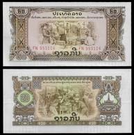 LAOS BANKNOTE - 20 KIP (1975) P#21a UNC (NT#04) - Laos