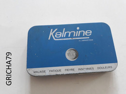 MEDECINE - BOITE METALLIQUE - KALMINE - LABORATOIRES PAUL METADIER - TOURS - Medizinische Und Zahnmedizinische Geräte