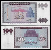 ARMENIA BANKNOTE - 100 DRAM 1993 P#36 UNC (NT#04) - Armenia