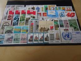 DDR Jahrgang 1985 Postfrisch Komplett (8308) - Unused Stamps