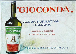 ► Anni 20s  - Acqua Minerale GIOCONDA Milano - Eau Minérale La Joconde -  Coupure De Presse Originale (Encadré Photo) - Advertising