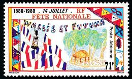 WALLIS ET FUTUNA 1980 - Yv. PA 103 **   Faciale= 0,59 EUR - Fête Nationale Du 14 Juillet  ..Réf.W&F23186 - Unused Stamps