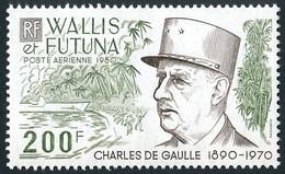 WALLIS ET FUTUNA 1980 - Yv. PA 106 **   Cote= 10,70 EUR - Général De Gaulle  ..Réf.W&F23189 - Nuovi