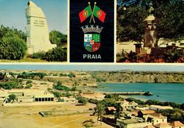 PRAIA : Multivues - Affr Philatélique - Cap Vert