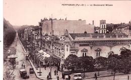 66 - Pyrenees Orientales -  PERPIGNAN - Le Boulevard Wilson - Perpignan