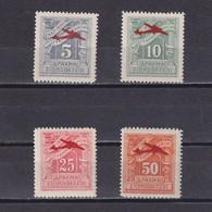 GREECE 1941-1942, Sc# C50-C53, Air Mail, Planes, MH - Ungebraucht
