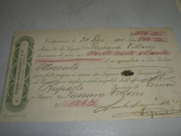 CAMBIALE FERRO SANGUINETI && C. VALPARAISO GENOVA 1904 - Other