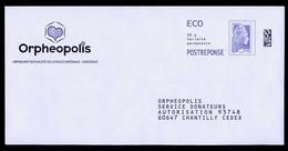 PAP Postréponse Eco Neuf Marianne L'engagée Orpheopolis (verso 301783) (voir Scan) - PAP : Risposta