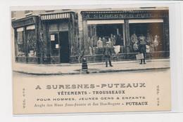 PUTEAUX - Suresnes-Puteaux - Vêtements - Trousseaux -  Très Bon état - Puteaux