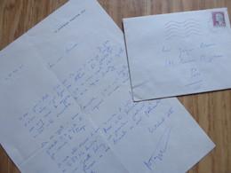 Roger PEYREFITTE (1907-2000) Ecrivain. RENAUDOT. Homosexualité. AUTOGRAPHE - Autographs