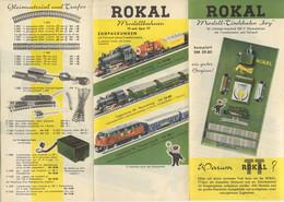 Catalogue ROKAL 1960 Neuheiten Depliant - Modellbahnen Spur TT 12 Mm - Duits