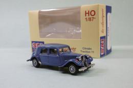 SAI Les Classiques - CITROEN TRACTION 11B 1952 Bleu D'Islande Réf. 6101 Neuf NBO HO 1/87 - Baanvoertuigen