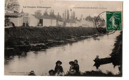 CHAMPAGNE LES MARAIS LE CANAL ANIMEE - Other Municipalities