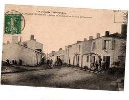 CHAMPAGNE LES MARAIS ENTREE DU VILLAGE ANIMEE - Other Municipalities