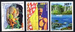 ColMB Polynesie N° 831 à 833  Neuf XX MNH Cote : 7,50€ - Unused Stamps
