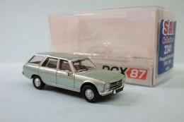 PCX87 - PEUGEOT 504 BREAK 1978-1983 Vert Métallisé Réf. 0025 / 2341 Neuf NBO HO 1/87 - Baanvoertuigen