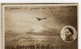 """Aviateur Géo VITTOZ GALLET - """"En Passant Les épreuves De Mon Brevet"""" - 10 Mai 1911 - Aviatori"""