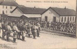 H3103 - VALDAHON - D25 - Rentrée De La Troupe Au Camp - Altri Comuni
