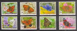 Isle Of Man 2011 MNH - Insects , Butterflies - Isla De Man