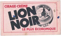 Buvard - Lion Noir - Cirage-Crème - Pour Toutes Chaussures - Buvard Usagé - Shoes