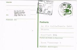 39923. Entero Postal HANNOVER (Alemania Federal) 1970. Slogan FARAON Akenaton, Tutankamon, Nefertiti - Postkarten - Gebraucht
