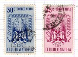 YV+ Venezuela 1952 Mi 784-85 Lara - Venezuela