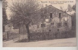 BUSSETO PARMA  RONCOLE CASA OVE NACQUE G. VERDI 1915  VG - Parma