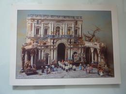 """Cartolina Associazione Italiana Amici Del Presepio, Sezione Di Napoli """"GAETANO ERCOLANO Esedra Di Villa Campolieto"""" - Napoli (Naples)"""