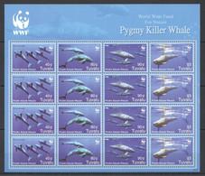 Z546 2006 TUVALU WWF FAUNA MARINE LIFE PYGMY KILLER WHALE MICHEL 54 EURO SH MNH - Sonstige