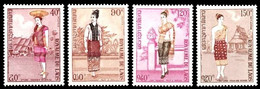 (128) Laos  Culture / Costumes / Trachten  ** / Mnh  Michel 354-357 - Laos