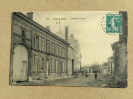 PAUVRES-Ardennes-Grande-Rue - Altri Comuni