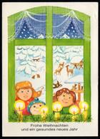 E9430 - Pritzel Glückwunschkarte Weihnachten - Planet Verlag DDR - Birthday