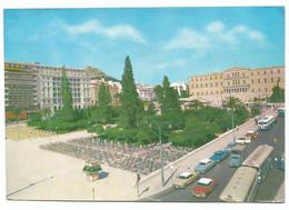 A4280 Athenai Athens Athenes Atene Athen - Constitution Square - Auto Cars Voitures - Nice Stamps Timbres Francobolli - Grecia