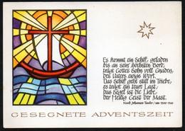 E9433 - Glückwunschkarte Weihnachten - Verlag Max Müller Karl Marx Stadt DDR - Non Classés