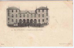 CHARENTE-MARITIME - ILE D'OLERON - Sanatorium De Saint-Trojan ( Animation ) - Sonstige