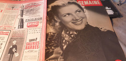 SEMAINE 43/BLANCHETTE BRUNOY /SIMON BALZAC/LALANNE LADOUMEGUE PUJAZON VALMY /ANDERNOS/PEYNET - 1900 - 1949