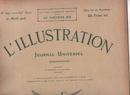L'ILLUSTRATION  21 04 1906 - ERUPTION VESUVEBOSCO TRECASE / NAPLES / OTTAJANO - GREVE FACTEURS - ELECTIONS RUSSIE ... - L'Illustration