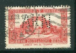 ALGERIE- Y&T N°115- Oblitéré Et Perforé - Usados