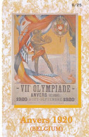 GREECE - Anvers 1920 Olympics, DNA By Interconnect Promotion Prepaid Card, Printing Sample(reverse Blanc) - Griekenland
