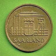 ALLEMAGNE / SAARLAND - SARRE / ZWANZIG FRANKEN / 20 FRANCS / 1954 / SUP - Sarre