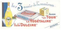Buvard Huile Dulcine / La Végétaline / Savon La Tour - H