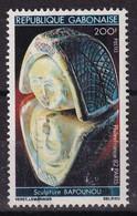 Gabon 1982, Sculpture, Minr 823 Vfu - Gabon (1960-...)