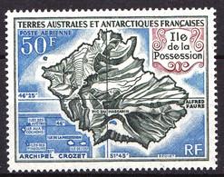 TAAF - PA  23 - 50F Ile De La Possession - Neuf N** - Très Beau - Poste Aérienne