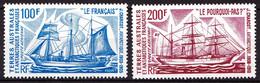 TAAF - PA  38 / 39 - Bateaux - Complet 2 Valeurs - Neufs N** - Très Beaux - Poste Aérienne
