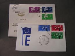 Zypern Europa FDC Lot - Mezclas (max 999 Sellos)