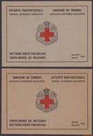 België 1953 - Mi:MH 963 I/II, Yv:C 914, OBP:914A/914B, Booklet - O - Princess Josephine Charlotte Red Cross - Postzegelboekjes 1953-....