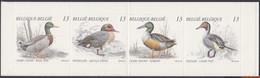 België 1989 - Mi:MH 30, Yv:C 2332, OBP:B 19, Booklet - XX - Ducks - Postzegelboekjes 1953-....