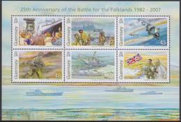 Guernsey 2007 - Mi:BL 44, Yv:BL 61, Block - XX - Falkland War - Guernesey