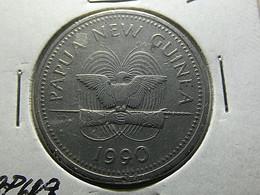 Papua New Guinea 20 Toea 1990 - Papua New Guinea