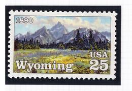 Etats Unis USA 1990 - MNH ** - Montagnes - Michel Nr. 2078 Série Complète (usa661) - Nuevos